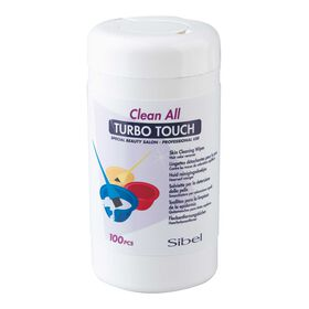 Clean All Turbo Touch Haarverf Reinigingsdoekjes 100stk.