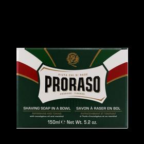 PRORASO Green Shaving Soap In A Bowl 150ml