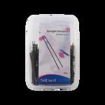 Sibel Hairpins Recht 65mm Bruin 500g/936550015