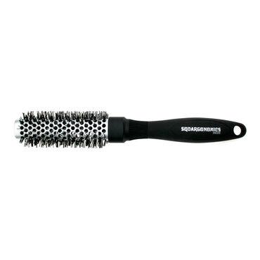 Denman Brush Squargonomics Silver 25mm