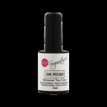 ASP Signature Gel Polish Shimmer Top Coat 14ml