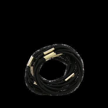 Stella Green Rubber Band Medium Black 10 st