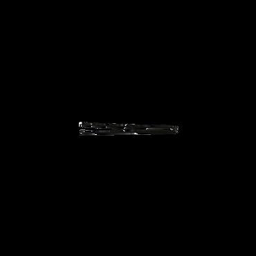 Sibel Hairpins Recht 65mm Zwart 50st/936505002