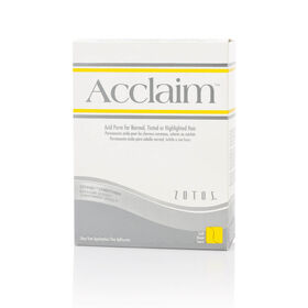 Zotos Acclaim Soft Perm Kit White