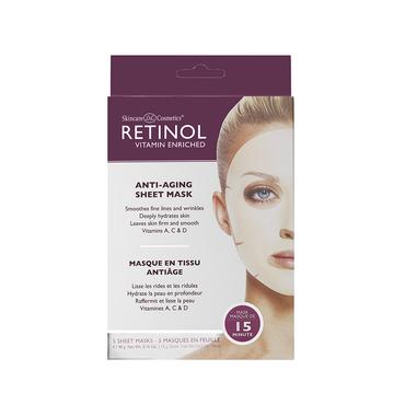 RETINOL Anti-Aging Sheet Mask 5 st