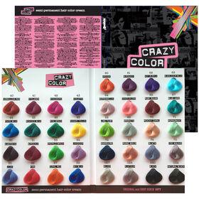 Crazy Color Kleurenkaart A4