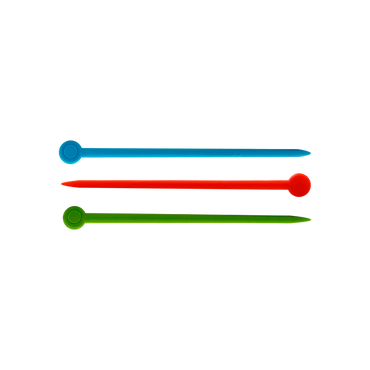 Sibel Naald Plastic Kleur 200st/939243200