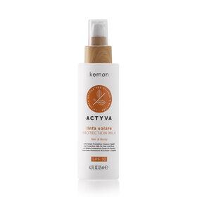 Kemon Actyva Linfa Solare Protection Milk 125ml