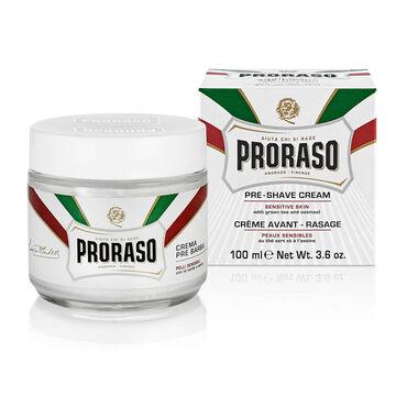 PRORASO White Pre-Shaving Cream 100ml