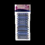 Sibel Permwikkel Kort 13mm Blauw Grijs12st/4500729