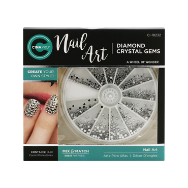 Cina Pro Nail Art Diamond Crystal Gems