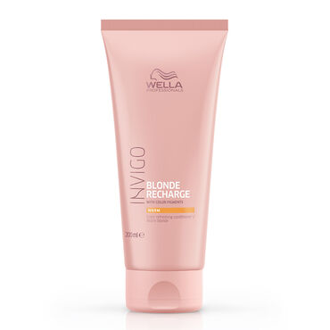 Wella Invigo Blonde Recharge Conditioner Warm 200ml