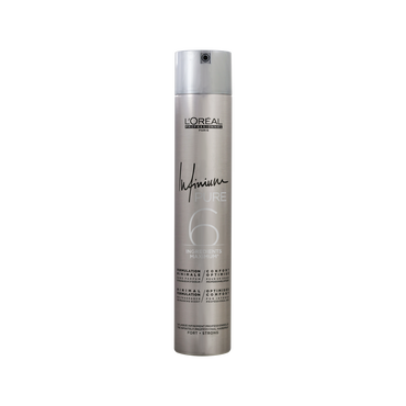 L'Oréal Hairspray Infinium Pure 6 Strong 500ml