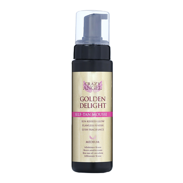 CRAZY ANGEL Golden Delight Self-Tan Mousse 200ml