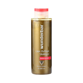 Wunderbar Color Refresh Shampoo Warm Blond 200ml
