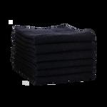 Salon Services Handdoek Zwart 50x80 6st