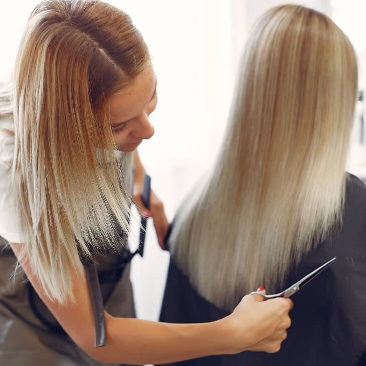 Student Signup with Salon Serives